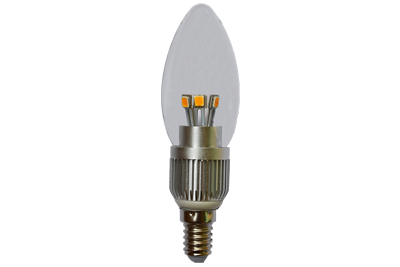 5W Dimmable LED candelabra light bulbs