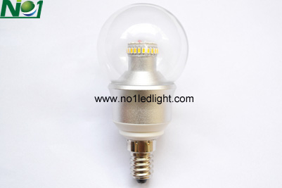 E14 LED light bulbs dimmable 4 Watt 360 degree lighting