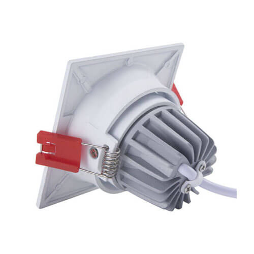 Square LED downlights 13W SHARP COB